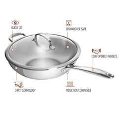Oxo Stainless Steel Wok