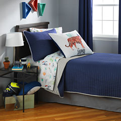 Frank and Lulu Color Splash Quilted Pillow Sham