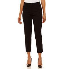 St. John's Bay Slim Fit Ankle Pants