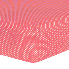 Trend Lab® Cocoa Dot Crib Sheet