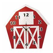 Trend Lab® Baby Barnyard Barn Wall Clock