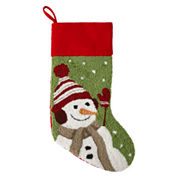 North Pole Trading Co. Snowman Stocking
