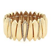 Nicole by Nicole Miller® Gold-Tone Stretch Bracelet