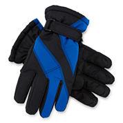 Colorblock Ski Gloves - Boys 8-20