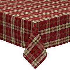 Design Imports Campfire Plaid Tablecloth