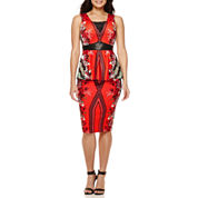 BisouBisou® Lace-Up Peplum Top or Faux-Leather-Waist Scuba Skirt