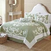 Aliani Scroll Applique Quilt & Accessories