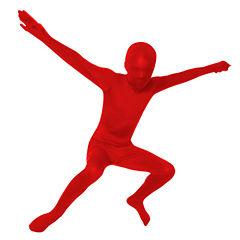 Red Skin Suit Child Costume - Medium (8-10)