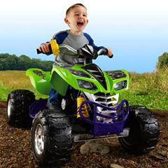 Power-Wheels Nickelodeon Teenage Mutant Ninja Turtles Kawasaki KFX