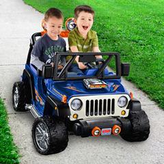 Fisher-Price Power-Wheels Hot Wheels Jeep Wrangler