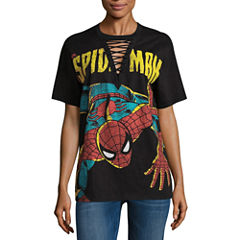 Spiderman Graphic T-Shirt- Juniors