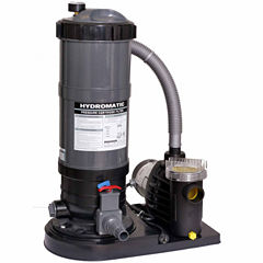 Blue Wave Hydro 120 Sq.-ft Cartridge Filter Systemwith 1.5 HP Pump for Above Ground Pools