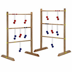 Hathaway Solid Wood Ladder Toss Game Set