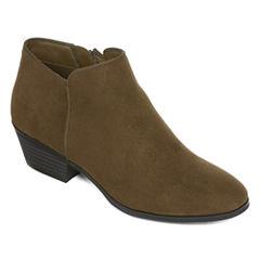 St. John's Bay® Lennon Womens Ankle Boots