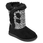 Okie Dokie® Keeta Girls Boots - Toddler