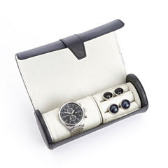 Royce Leather Luxurious Genuine Leather Watch Box