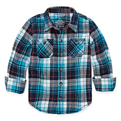 Arizona Long-Sleeve Flannel Shirt - Toddler 2T-5T