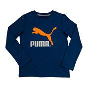 Puma® Long-Sleeve Graphic Tee - Boys 8-20