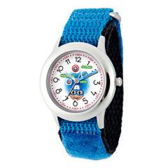 Emoji Marvel Boys Blue Strap Watch-Wma000088
