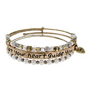 Messages from the Heart® by Sandra Magsamen® Heart Be Your Guide Bracelet