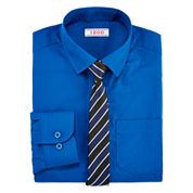 IZOD® Fashion Dress Shirt & Tie Set - Boys 8-20
