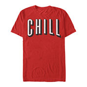 Chill Short-Sleeve Cotton Tee
