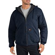 Dickies® Heavyweight Quilted Fleece Hoodie