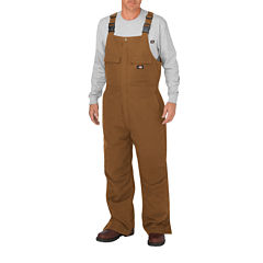 Dickies® Midweight Sanded Stretch Duck Bib Overalls - Big & Tall