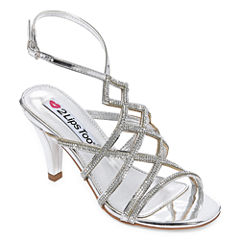 2 Lips Too Elsa Womens Heeled Sandals