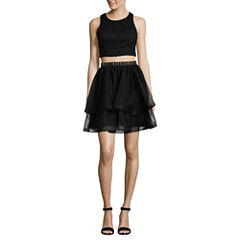 My Michelle Sleeveless Party Dress-Juniors