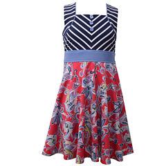 Bonnie Jean Sleeveless Fit & Flare Dress - Big Kid Girls