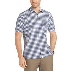 Van Heusen Short Sleeve Never Tuck Shirt