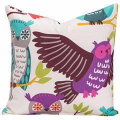 Crayola Owl Always Love You Throw Pillow