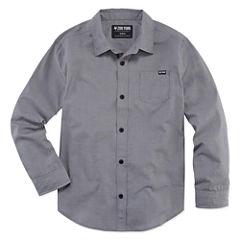 Zoo York Long Sleeve Button-Front Shirt Boys