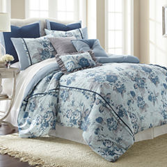 Pacific Coast Textiles Floral Farmhouse 8-pc. Comforter Set