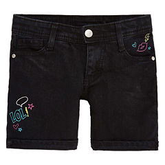 Total Girl Midi Shorts-Preschool Girls