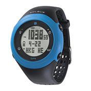 Soleus GPS Fly Black Silicone Strap Running Digital Sport Watch