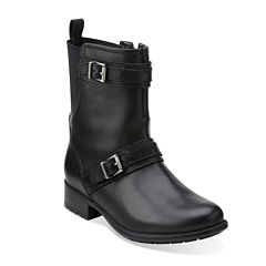 Clarks® Plaza City Comfort Ankle Boots