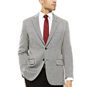 Stafford® Merino Wool Sport Coat - Classic Fit