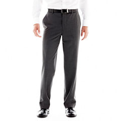 Men's JF J. Ferrar® Stretch Gabardine Flat-Front Straight-Leg Classic Fit Suit Pants