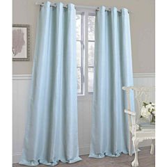 Laura Ashley® Darlington Grommet-Top 2-Pack Curtain Panels