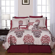 Pointehaven Cherry Blossom Complete Bedding Set with Sheets