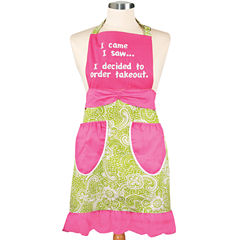 Women's I Came, I Saw, I Ordered Apron