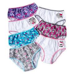 Monster High 7-pk. Assorted Brief Panties - Girls 4-10