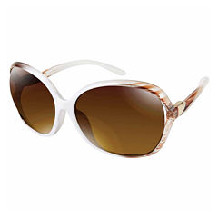 South Pole Round UV Protection Sunglasses-Womens