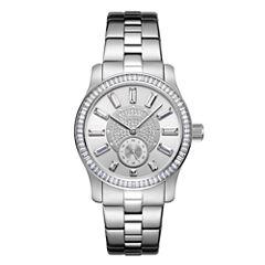 JBW Stainless Steel Celine Womens Silver Tone Bracelet Watch-J6349a
