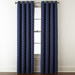 Jcpenney Home Tribeca Blackout Grommet Top Curtain Panel
