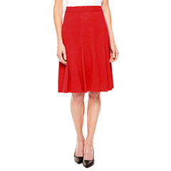 Sag Harbor Essentials Flared Skirt