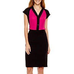Worthington® Colorblock Blouse or Pencil Skirt