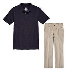 IZOD® Piqué Polo or Flat-Front Pants - Preschool Boys 4-7